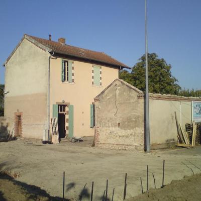 Mairie rénovée